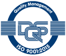 ISO 9001 2015 blue